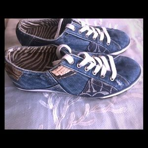 Denim Coach Shoes